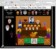 Interactive Day of the Dead